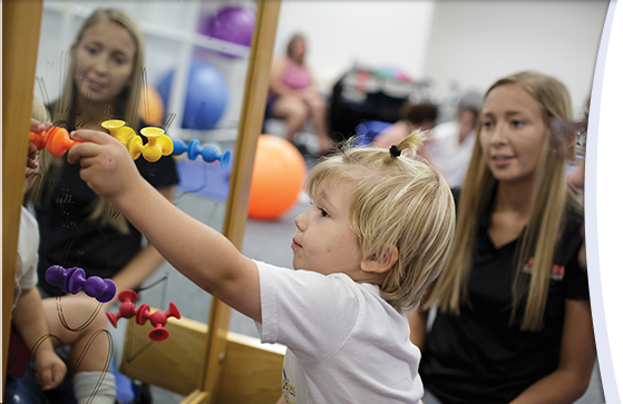 Program aims to inspire more therapists for early childhood care