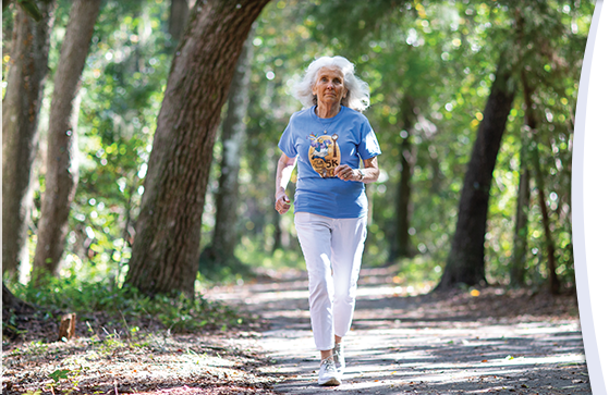 Judy Jones underwent lifesaving heart surgery at UF Health and exactly eight weeks later entered a 5K race at age 74.