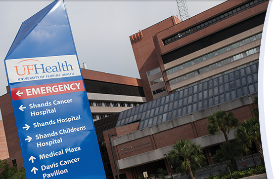 UF Health Shands Hospital ranks among nation's best in seven medical specialties.
