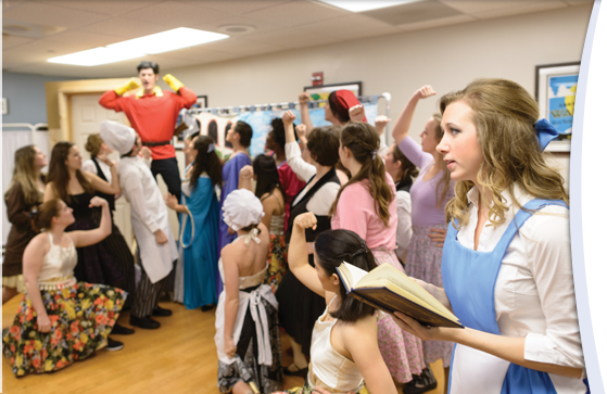 "Medical students perform ""Beauty and the Beast"" for patients at UF Health Shands Children's Hospital"