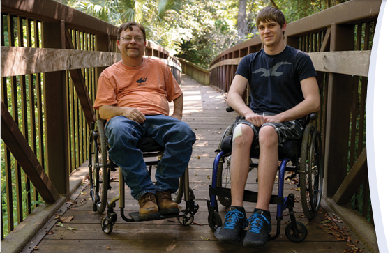 How UF Health patients are helping each other cope through illness and injury.