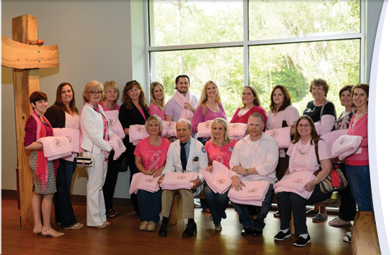 UF Health Shands employee donates blankets to cancer patients in memory of mother