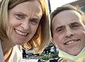 Elizabeth Devine and Dr. Sean Devine smile