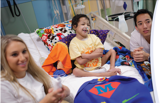 UF students making days brighter for young patients