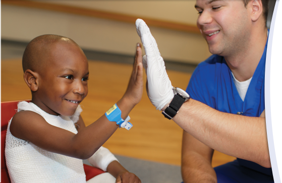 UF Health Shands Children's Hospital received national recognition in seven pediatric specialties.