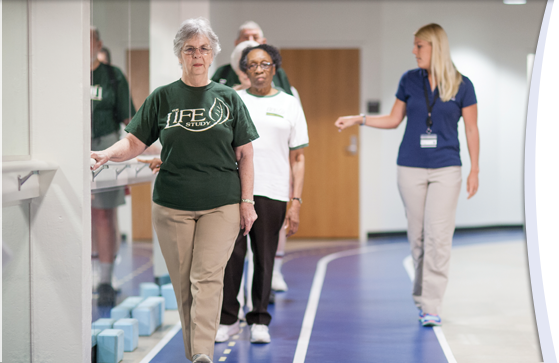 UF Health study finds older adults' risk of heart disease decreases with every minute spent being active.