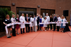 Ribbon cutting for the new Center for Autism and Neurodevelopment