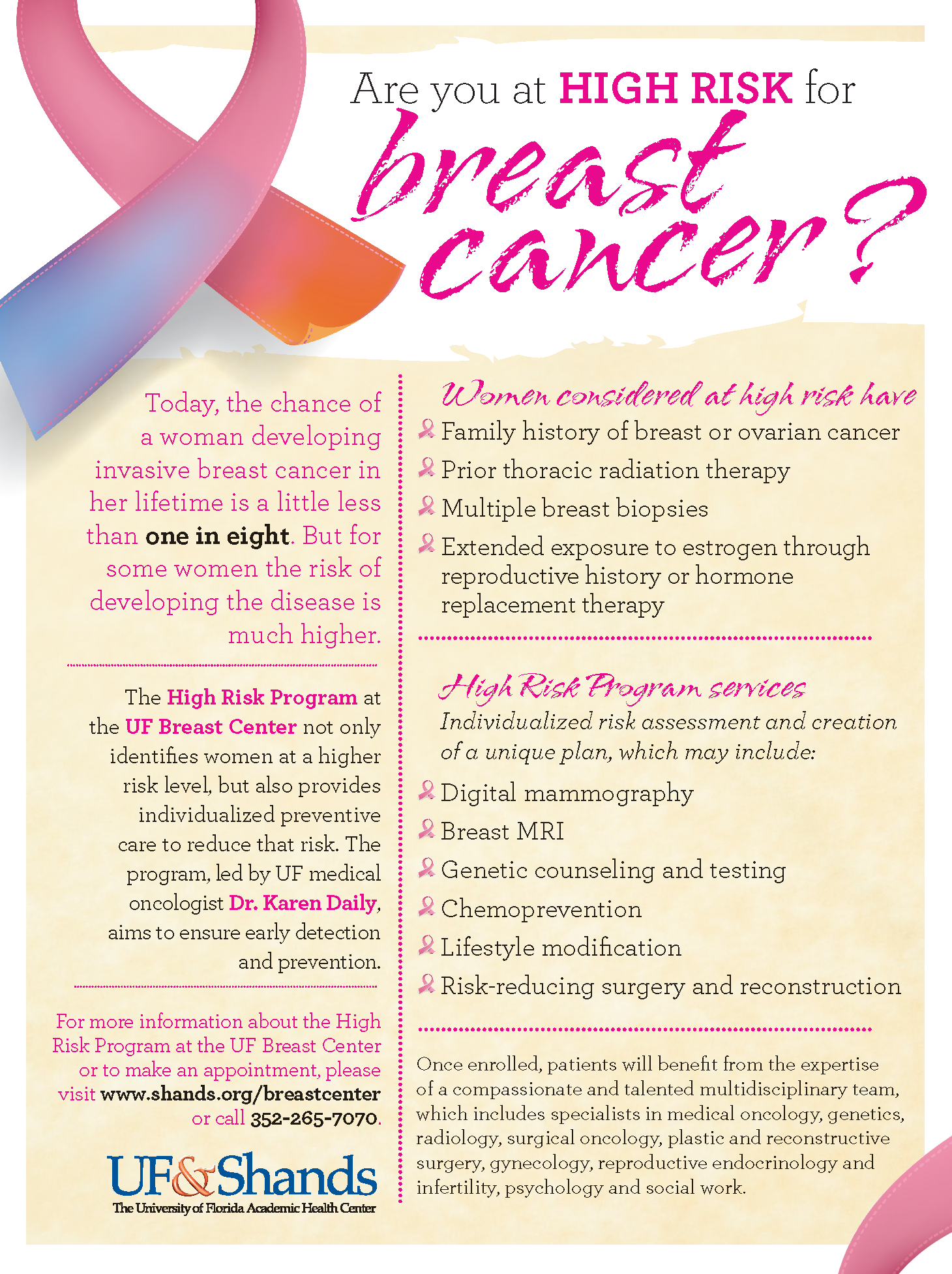 breast cancer brochure template free - breast cancer brochure abc infographic breast cancer