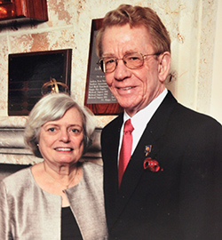Larry Dee, D.V.M, and his wife, Rita Dee