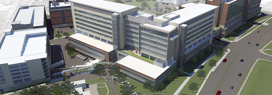 UF Health Heart & Vascular Hospital Rendering