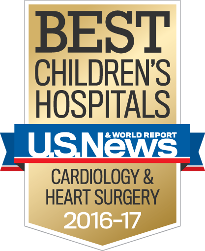 Best Children's Hospital in Cardiology & Heart Surgery for 2016-17