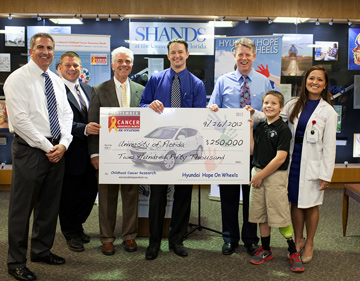 Hyundai Grant to the Pediatric Sarcoma Center