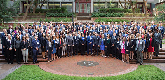 The UF College of Medicine welcomed the 177 members of the class of 2023 on July 31.