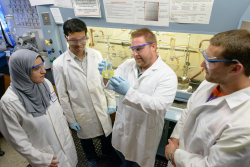 Rob Huigens, Ph.D., an assistant professor of medicinal chemistry in the UF College of Pharmacy, and his research team have developed a novel compound that uniquely starves biofilms of iron.