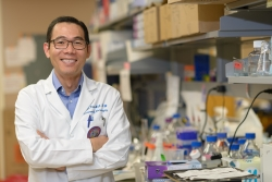 University of Florida Health neuro-oncologist David Tran, M.D., Ph.D.