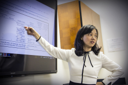 "Yu-Jung ""Jenny"" Wei, Ph.D., an assistant professor in the UF College of Pharmacy, led a study published in the Journal of the American Medical Association that questions the accuracy of CMS' criteria for flagging patients at risk of opioid abuse and overdose."