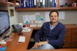 José A. Lemos, Ph.D., an associate professor of oral biology