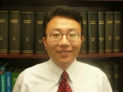 Y. Charles Cao, Ph.D., a UF associate professor of chemistry