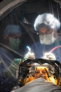 Researchers from the University of Florida Center for Movement Disorders and Neurorestoration recently conducted deep brain stimulation on Donna C. Colbert, who has Alzheimer's disease, as part of a clinical trial testing the effectiveness of the procedure on the disease.