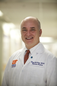 David Kays, M.D., UF's chief of pediatric surgery and an associate professor
