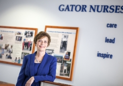 University of Florida College of Nursing Dean Anna M. McDaniel, Ph.D., R.N., FAAN