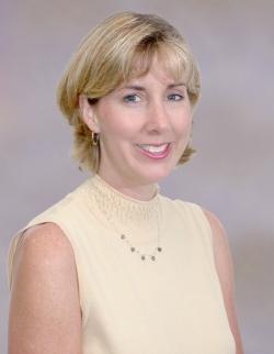 Leslie Parker, Ph.D., A.R.N.P., an assistant professor of nursing
