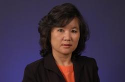 Saun-Joo Yoon, Ph.D., R.N., an associate professor of nursing. (Click image for high res download)