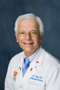 Carl J. Pepine, M.D., MACC, a cardiologist and professor of medicine in the UF College of Medicine