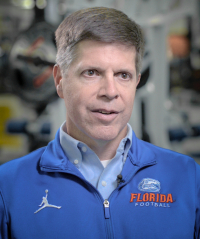 James R. Clugston, M.D., is an associate professor in the UF College of Medicine's department of community health and family medicine, and director of the Sports Concussion Center at the UF Student Health Care Center.
