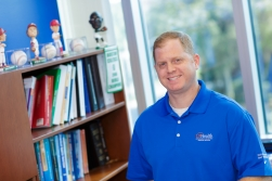 Jason Zaremski, M.D., CAQSM, assistant professor in the UF department of orthopedics and rehabilitation