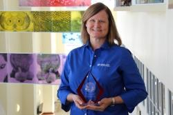 Julie Levy, D.V.M., Ph.D., a professor of shelter medicine at the University of Florida College of Veterinary Medicine