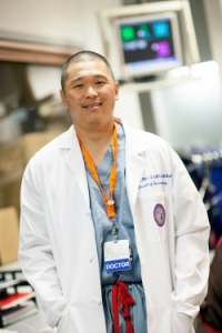 Brian Hoh, M.D., the William Merz associate professor of neurological surgery, and a joint associate professor of radiology and of neuroscience in the UF College of Medicine.