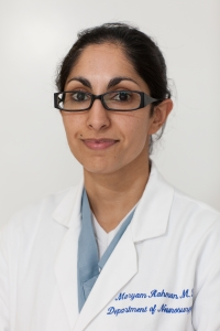 Maryam Rahman, M.D., an assistant professor in the UF College of Medicine's department of neurosurgery
