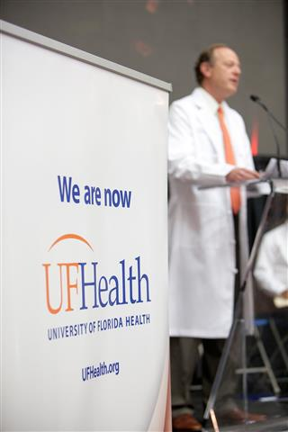 Dr. David S. Guzick, Senior Vice President, Health Affairs, and President, UF Health