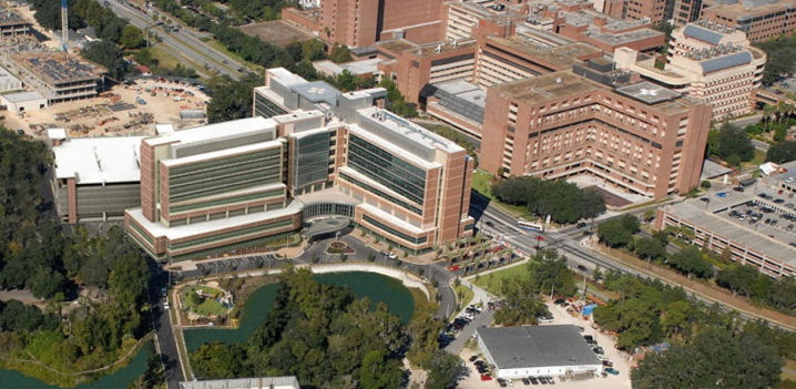 Image showing addition of hospital tower to existing Cancer Hospital