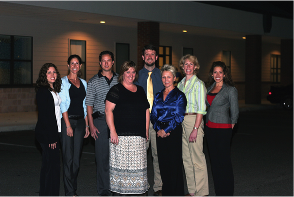 The UF&Shands Driving Rehabilitation Services program team (left to right): Zamarys Roman, Lisa Crisalli, Alexander Crizzle, Patty Helsel, Jason Rogers, Sherrilene Classen, Miriam Monahan and Desiree Lanford.