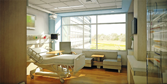 Image of patient room