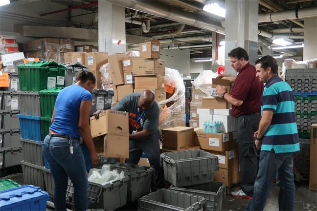 Supply CHain services working through Hurricane Irma