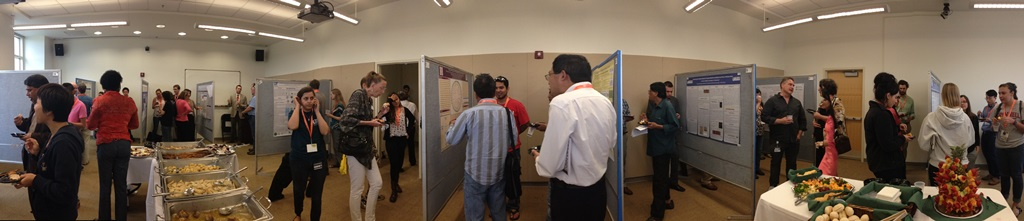 Poster presentations at last year's Florida Genetics Symposium hosted by the UFGI