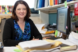 Colleen Le Prell, associate professor in the UF College of Public Health and Health Professions' department of speech, language and hearing sciences.