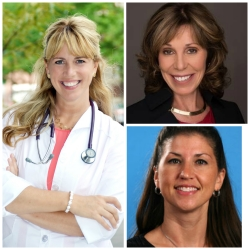Clockwise: Dr. Leigh Sawyer, Dr. Julia Conway and Dr. Mary Gardner