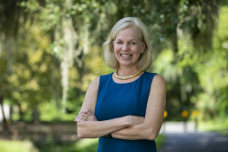 Sonja A. Rasmussen, M.D., a professor in the departments of pediatrics and epidemiology at the UF College of Medicine and the UF College of Public Health and Health Professions