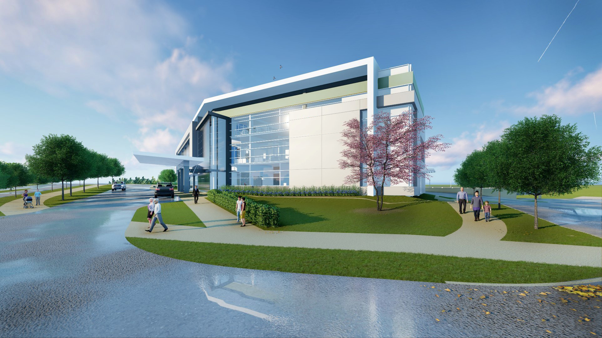 UF Health breaks ground for multispecialty medical facility at