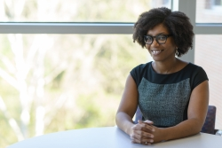 Vonetta Dotson, Ph.D., an assistant professor in the College of Public Health and Health Profession's department of clinical and health psychology, studied how exercise may affect patients with specific genetic traits.
