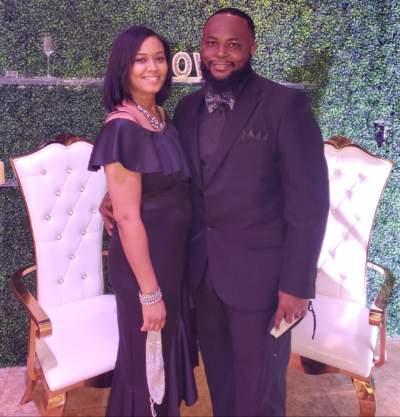 Christina Hall and her husband, John