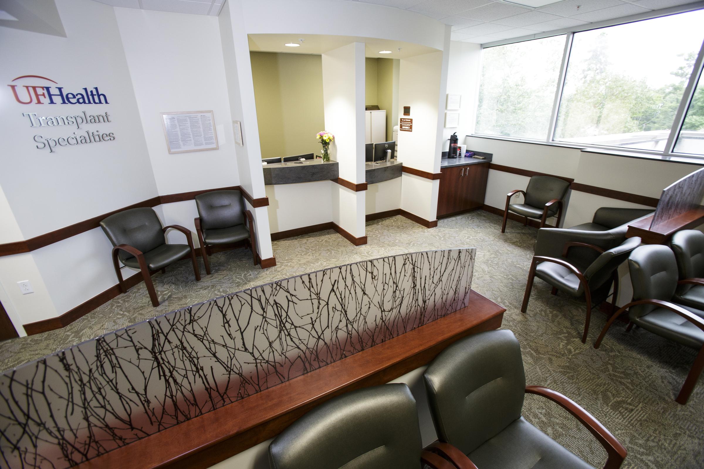 Lobby & Check-in Desk