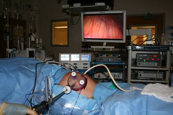 During LESS surgery, the entire operation is performed through a single incision made in the abdomen and typically at the belly button