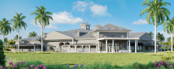 An architect's rendering of the new UF Veterinary Hospital at World Equestrian Center.