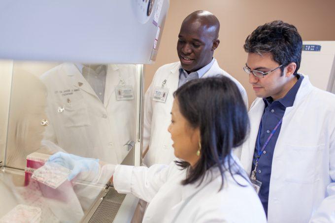 Dr. Flores, Dr. Mitchell, Dr. Sayour