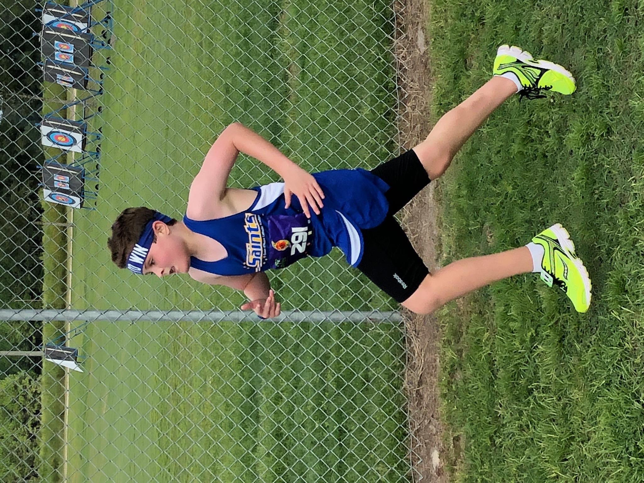 William Collett running